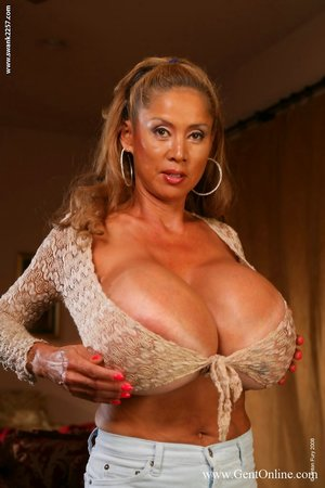 Asian MILF Tits Pics